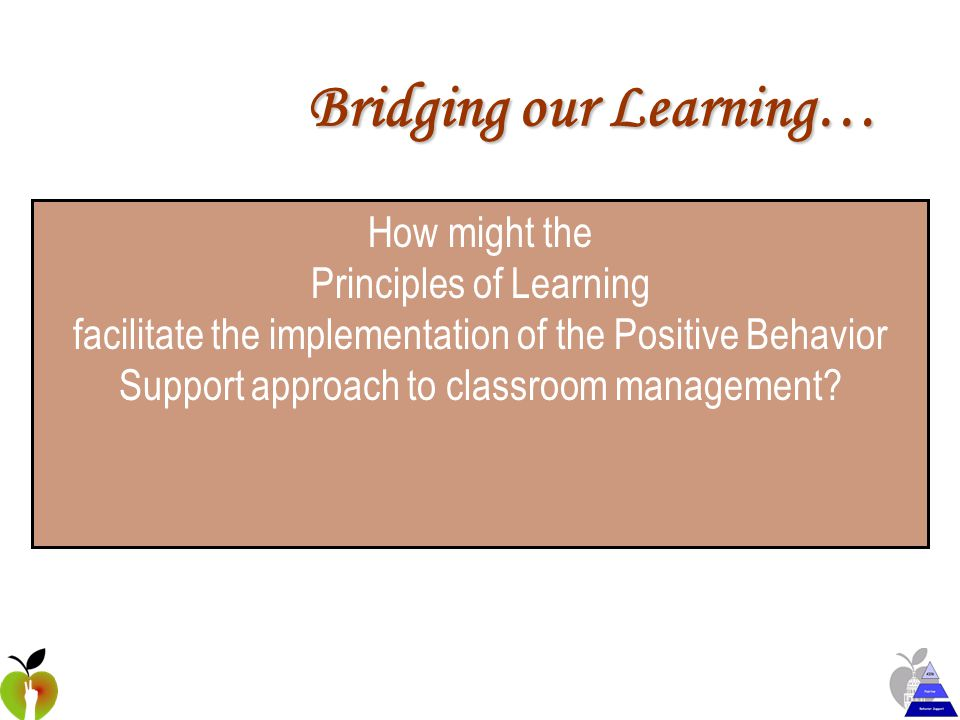 Scaffolding Classroom Management with Positive Behavior Support