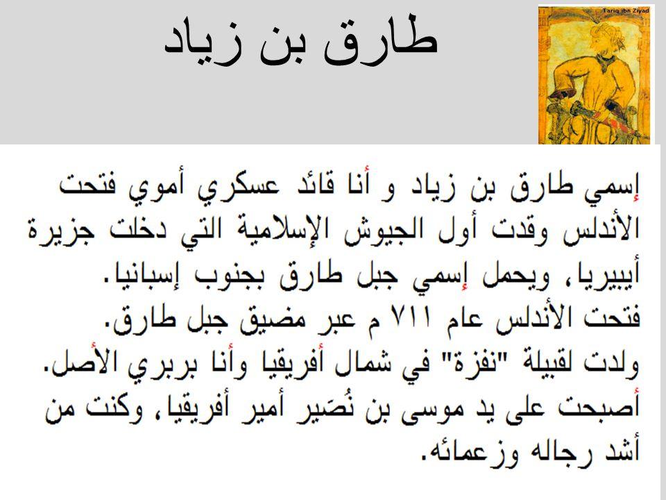 طارق بن زياد
