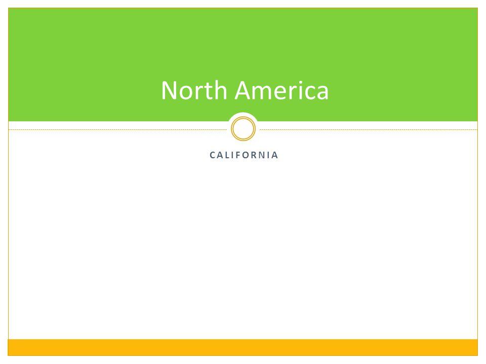CALIFORNIA North America