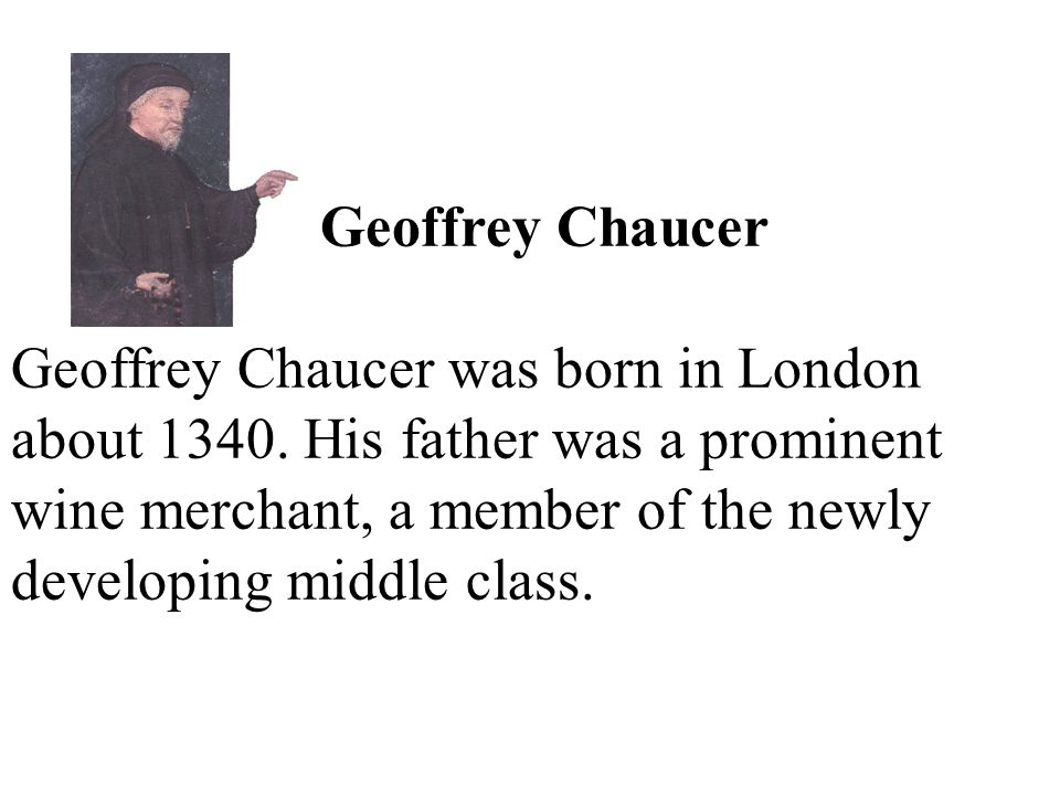 Chaucer's plan was to use a framework story, a story within a story.
