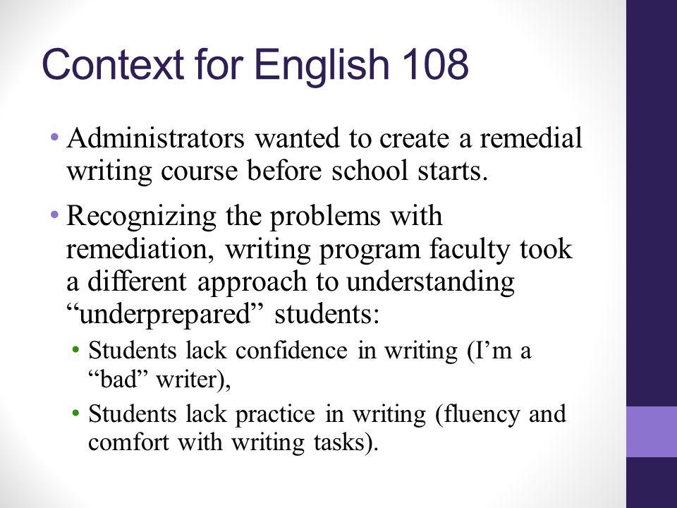 Writing Ready Enrollment