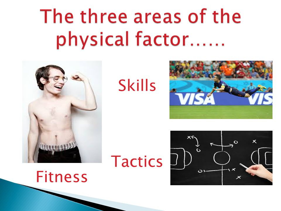 Select three aspects of Skill Related Fitness, write a paragraph in your jotter as to why you need a high degree of ability within these aspects to perform successfully from any sport you wish.