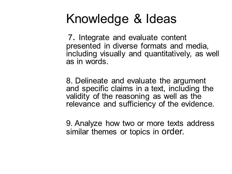 Knowledge & Ideas 7.