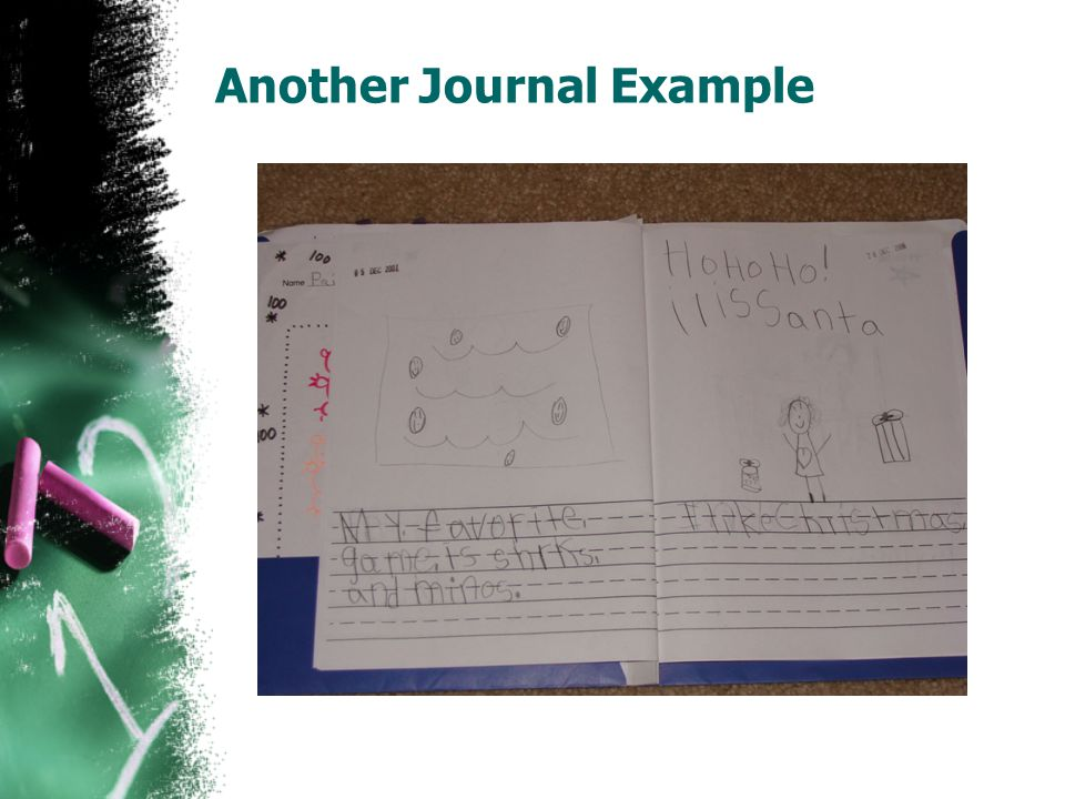 Another Journal Example