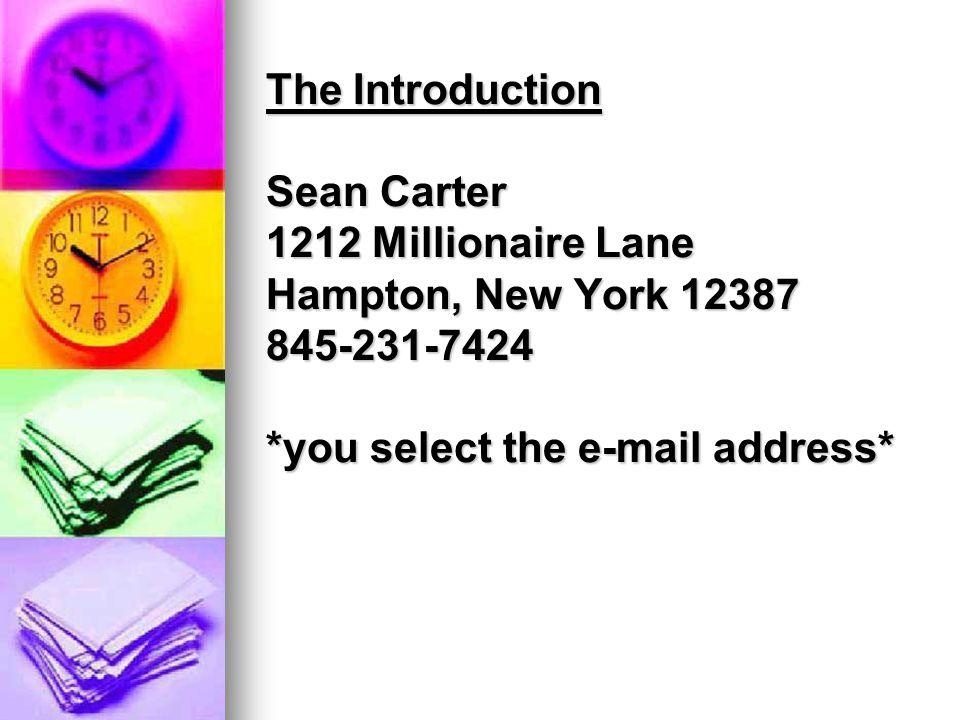 jayz@yahoo.com or carters@yahoo.com