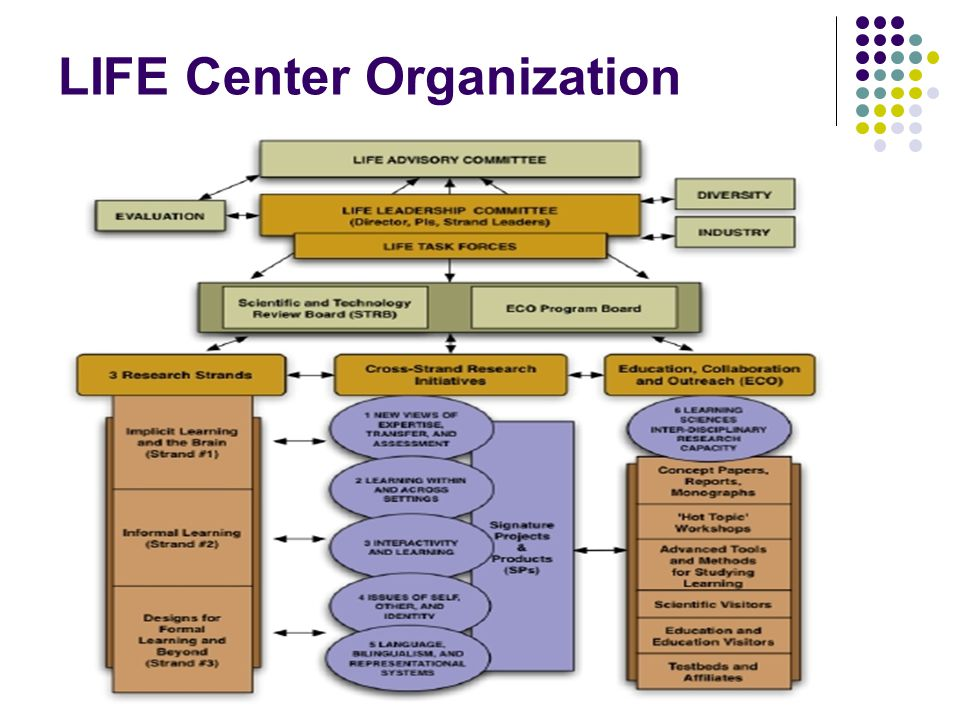 LIFE Center Organization