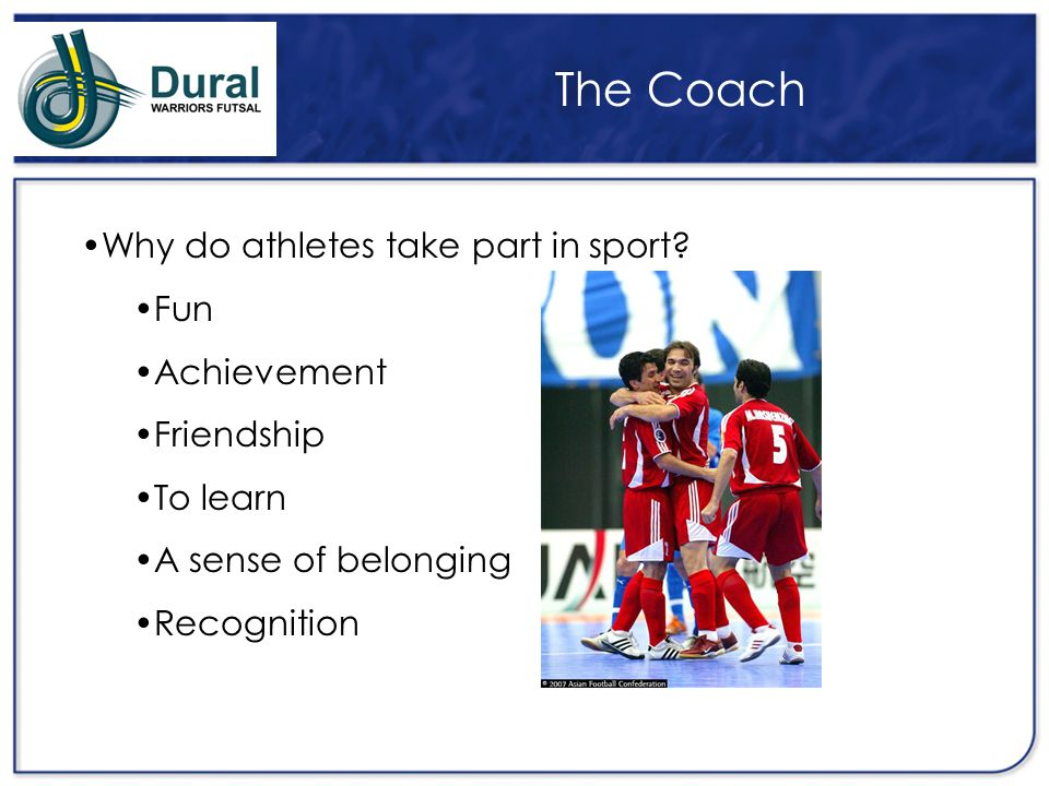 The Coach What do people expect from you as a coach.