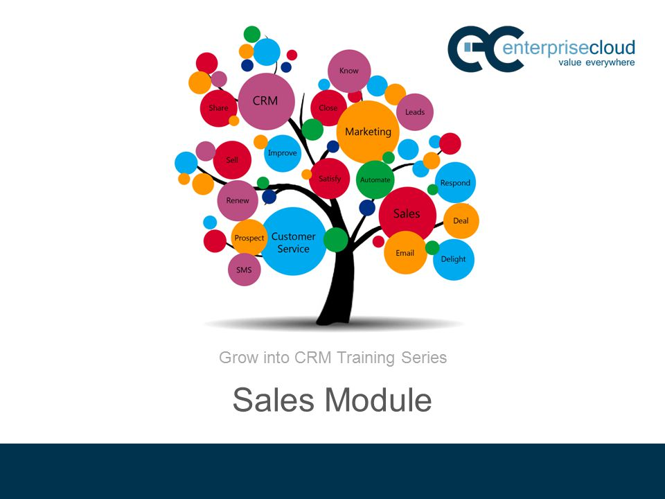 Grow into CRM Training Series Sales Module