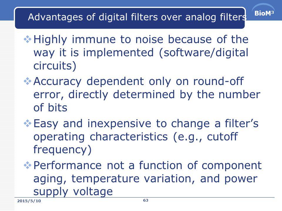 BioM 3 Filters 2015/5/10 62