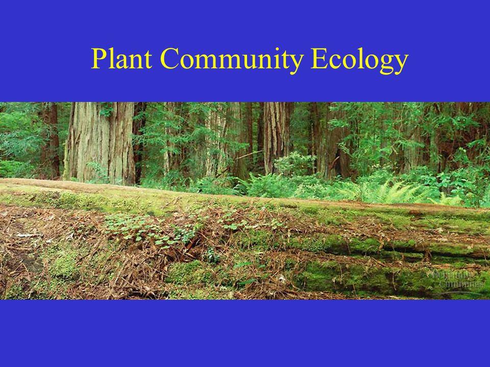 Plant Community Ecology