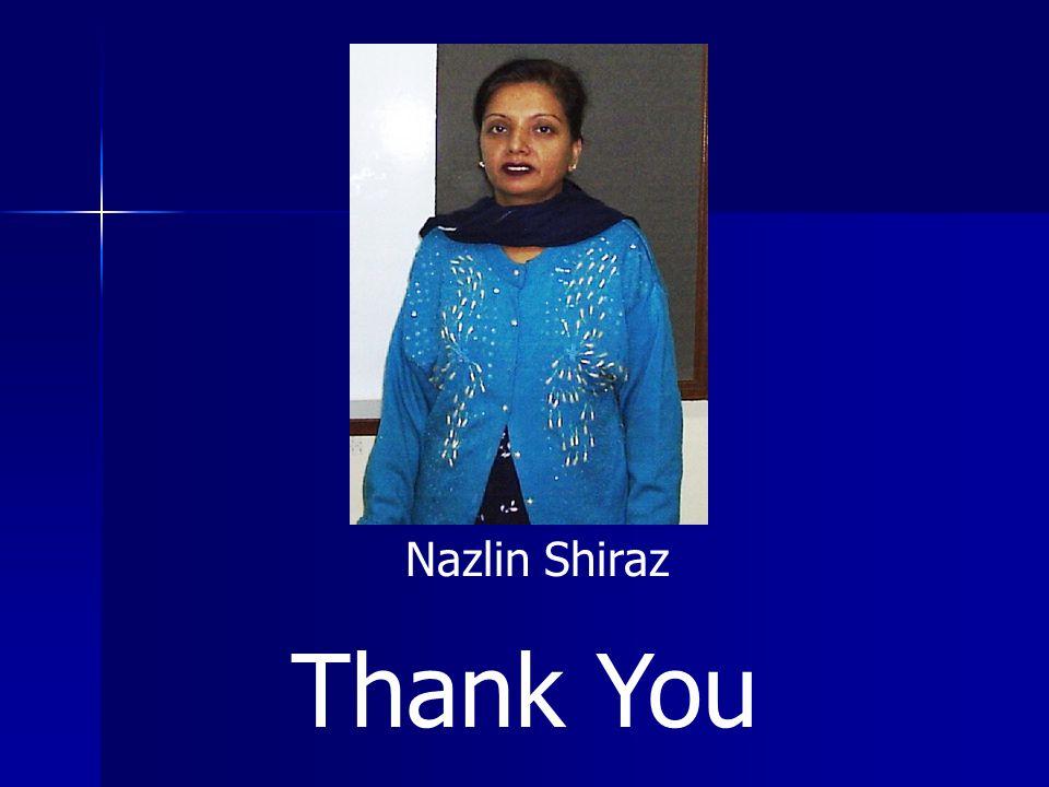 Thank You Nazlin Shiraz