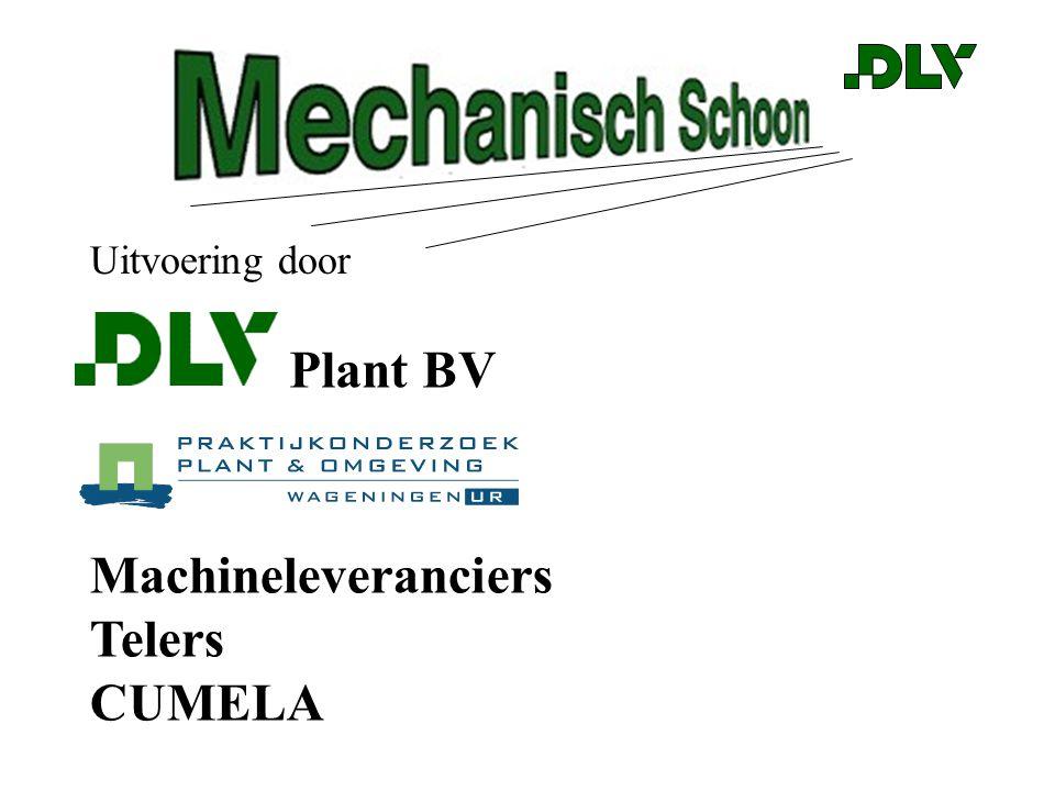 Uitvoering door Plant BV Machineleveranciers Telers CUMELA