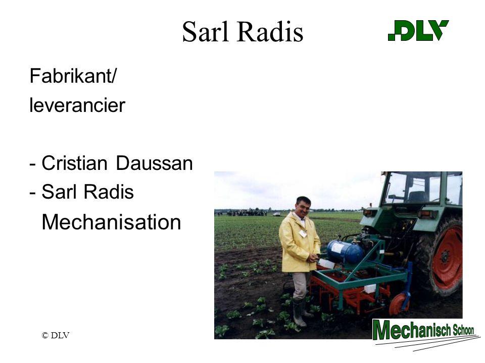 © DLVPagina 29 Sarl Radis Fabrikant/ leverancier - Cristian Daussan - Sarl Radis Mechanisation