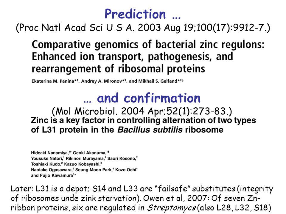 Prediction … (Proc Natl Acad Sci U S A.