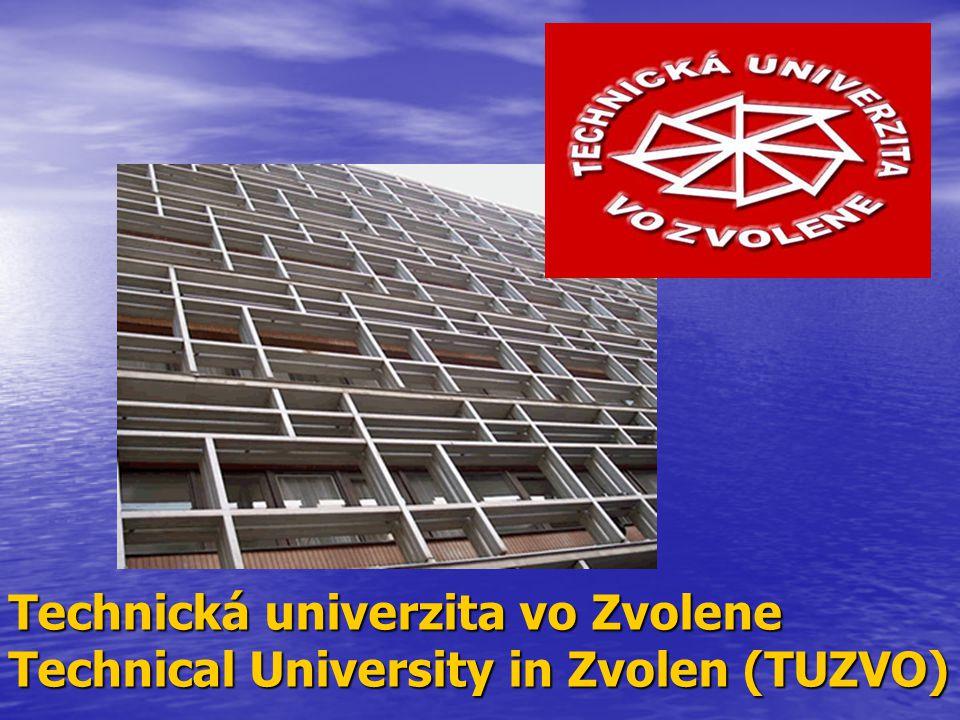 Technická univerzita vo Zvolene Technical University in Zvolen (TUZVO)