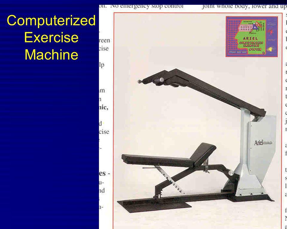 Computerized Exercise Machine