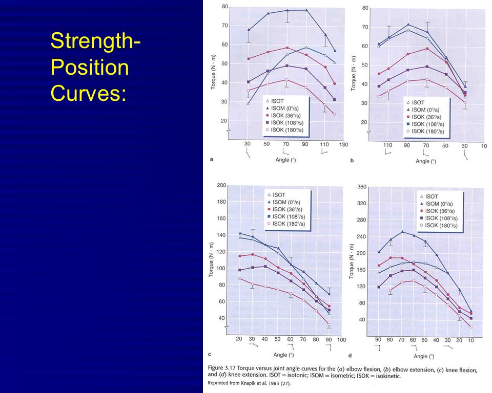 Strength- Position Curves: