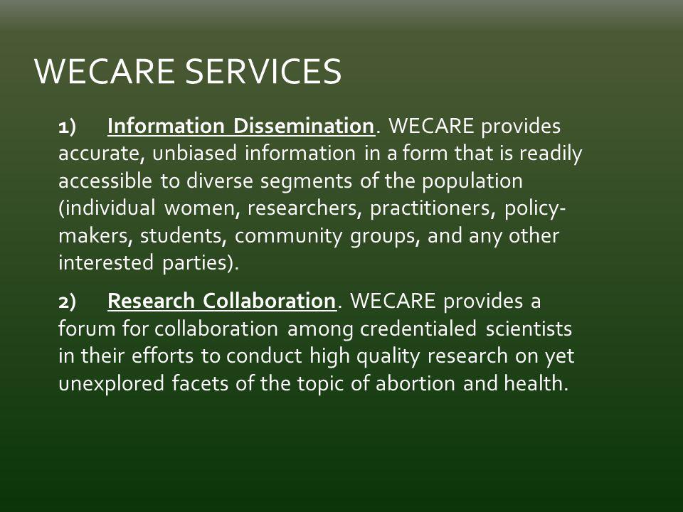 1) Information Dissemination.