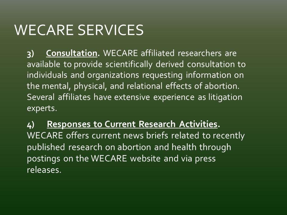 3) Consultation.