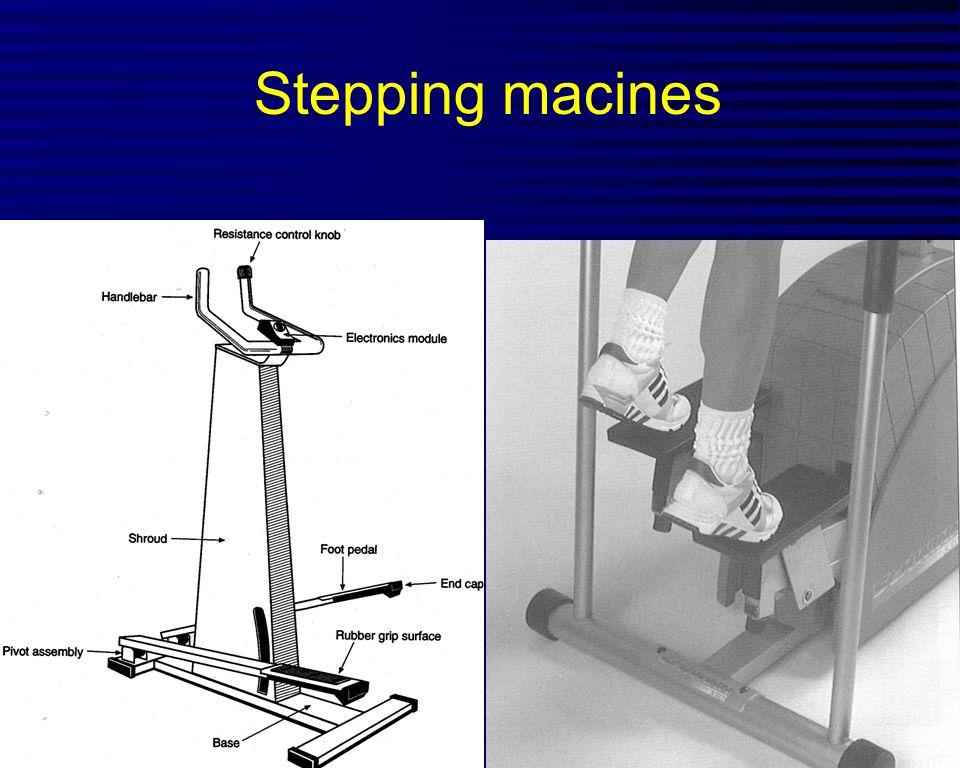 Stepping macines