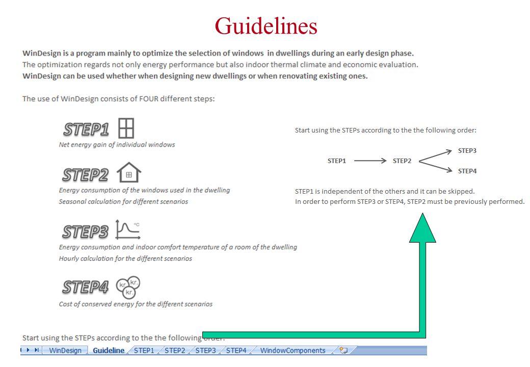 Step 2 – seasonal energy consumption 5