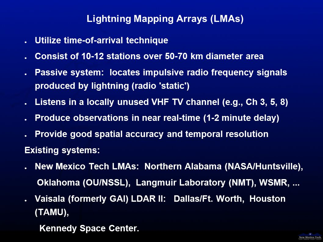 Number of located LMA sources, May 2000, STEPS (Daylight ~12-02 UTC; 6 am – 8 pm MDT)