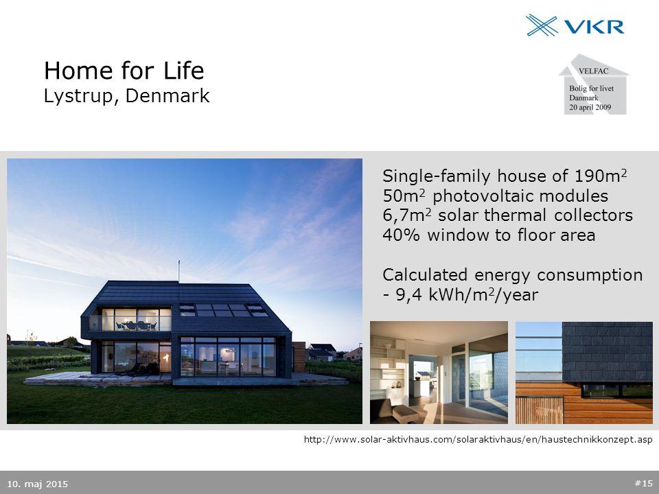 Home for Life Lystrup, Denmark 10.