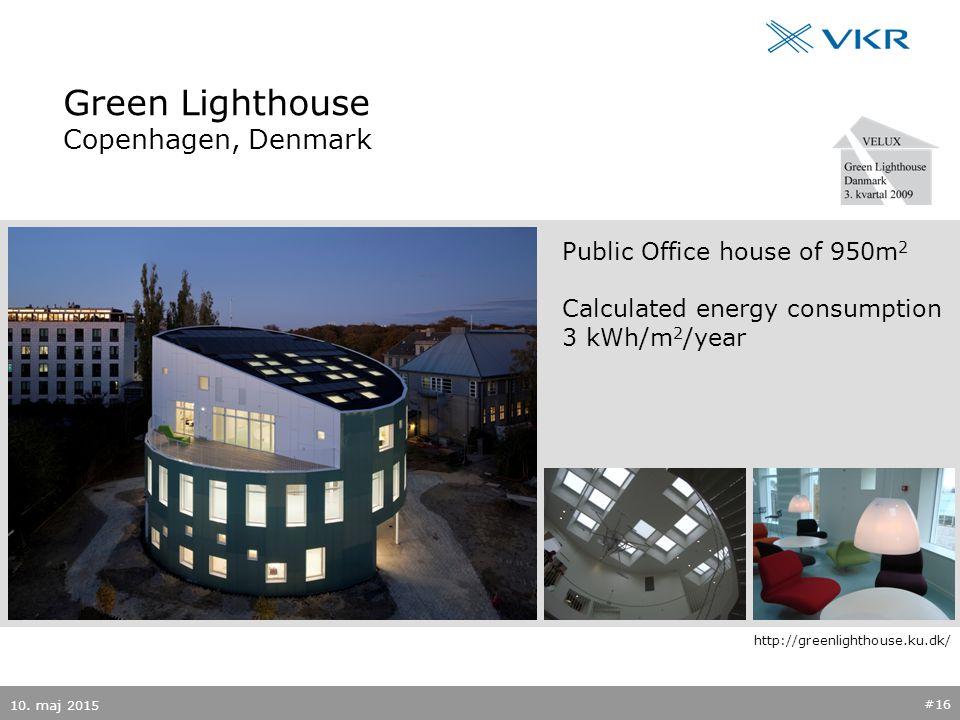 Green Lighthouse Copenhagen, Denmark 10.