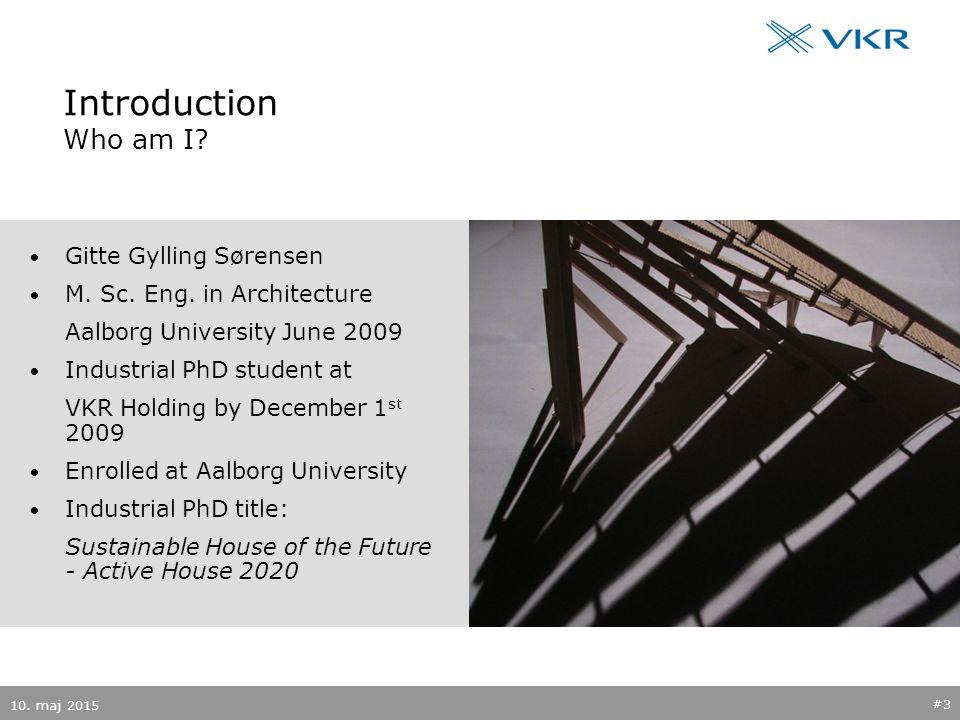 Introduction Who am I. Gitte Gylling Sørensen M. Sc.