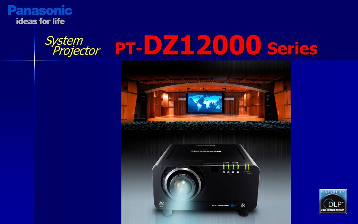 System Projector PT- DZ12000 Series
