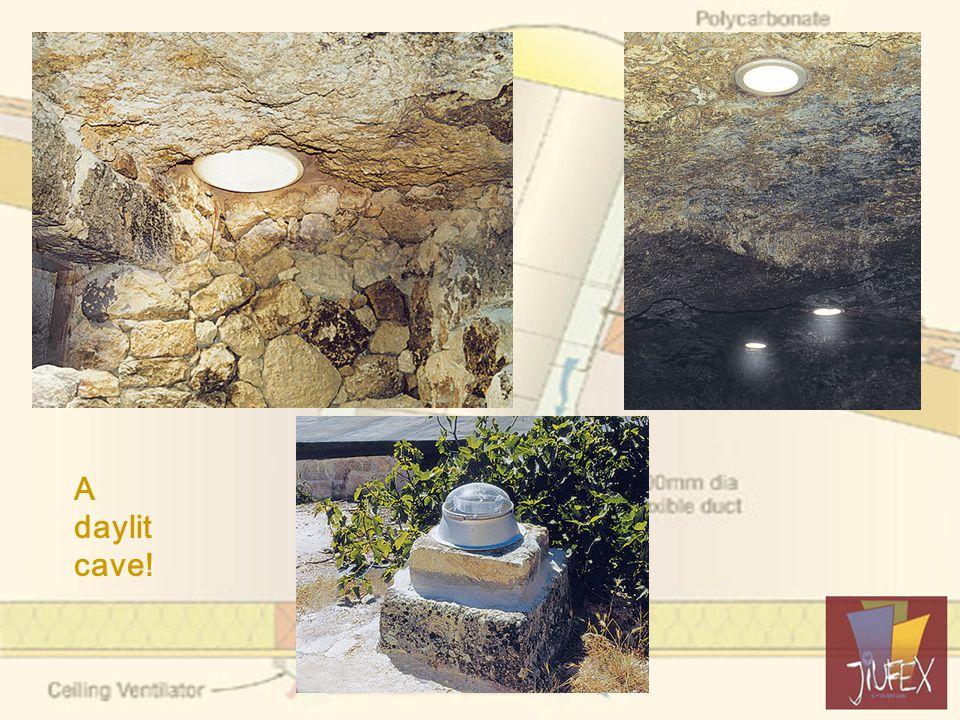 A daylit cave!