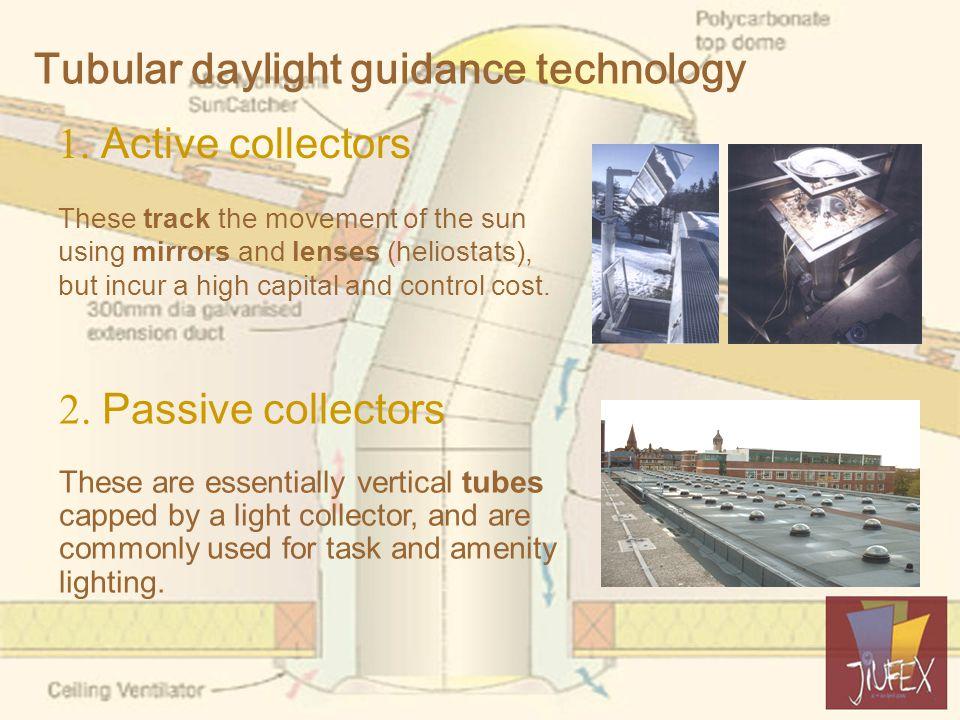 Tubular daylight guidance technology 1.