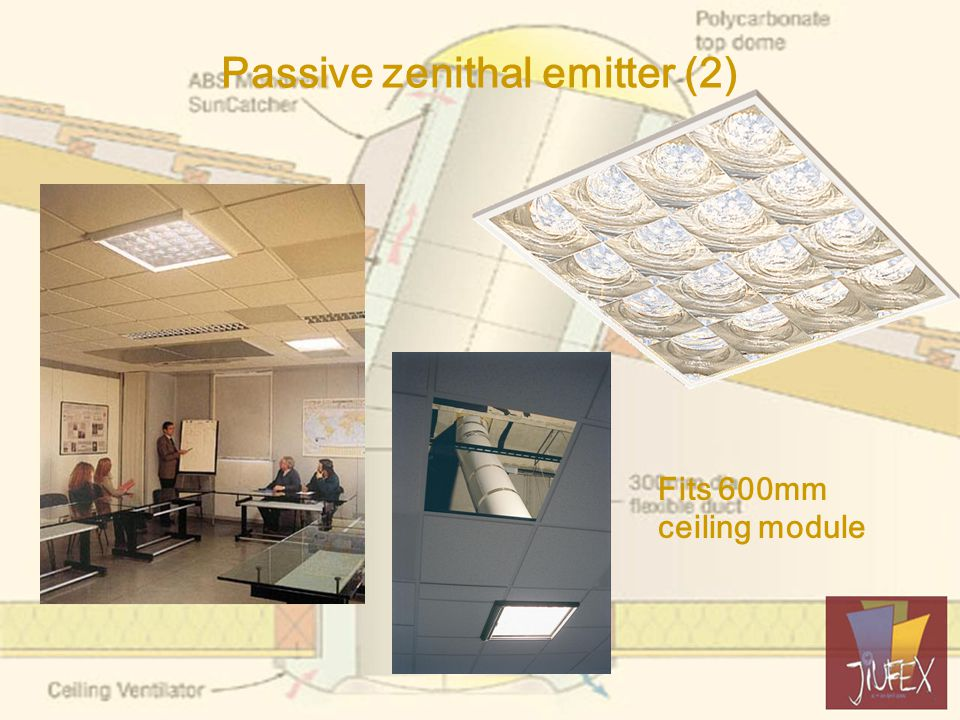 3- School Purpose built two storey Guides to upper floor penetrate only roof Guides to lower floor in brick vertical duct Not enough guides to provide sufficient task illuminance TDGS will, assuming daylight linking, reduce annual CO2 emissions by 1.1 mT.