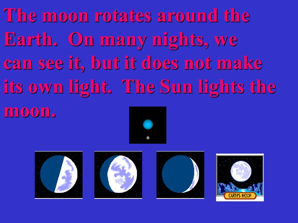 The Earth revolves around the Sun.The path it takes is called the Earth's Orbit.