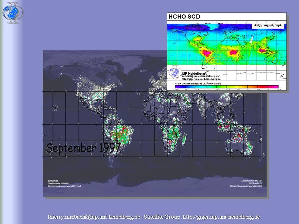 thierry.marbach@iup.uni-heidelberg.de - Satellite Group: http://giger.iup.uni-heidelberg.de July, August, Sept.