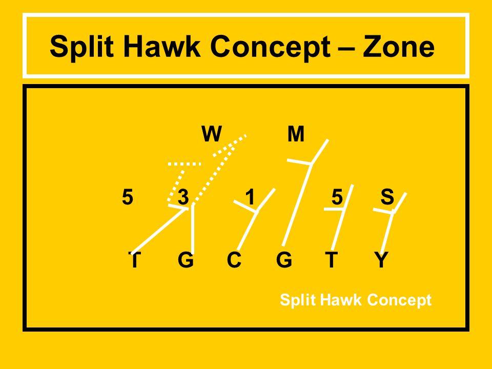 Split Hawk Concept – Zone W M 53 1 5 S TGCGTY Split Hawk Concept