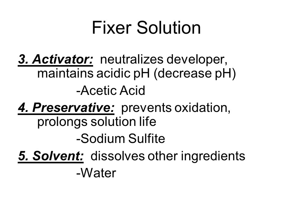 Fixer Solution 3.