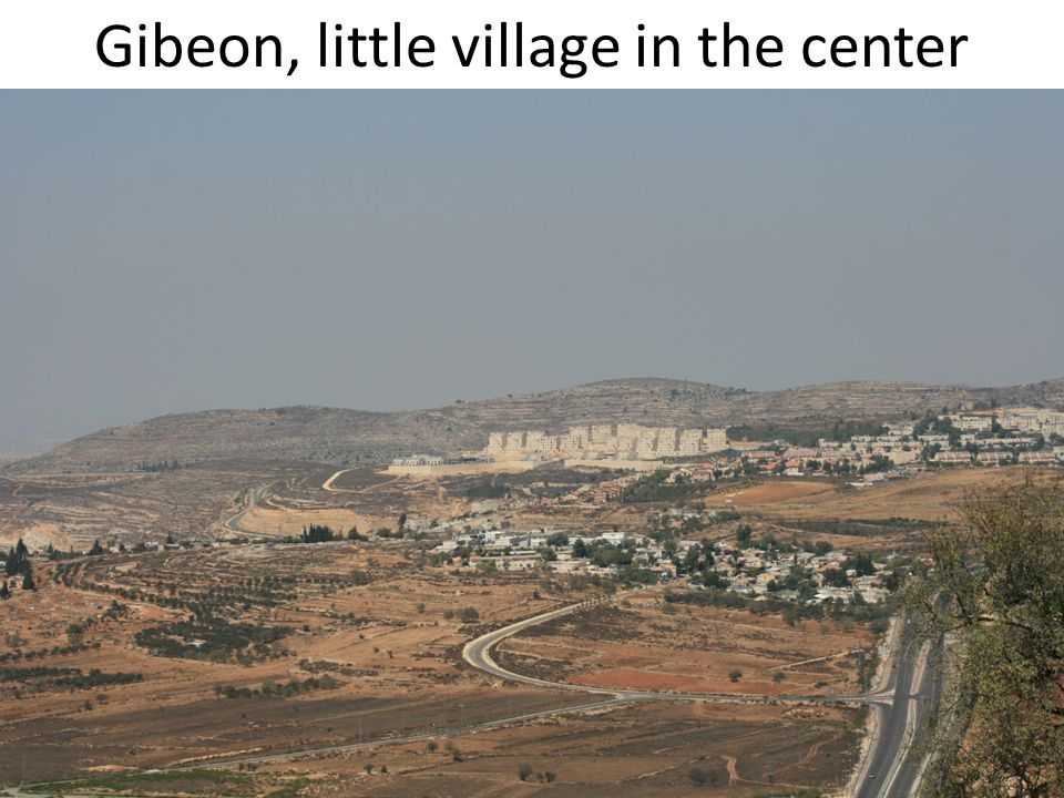 Gibeon, little village in the center