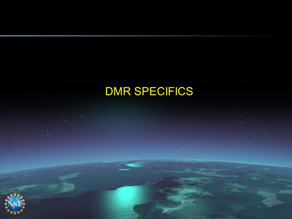 DMR SPECIFICS