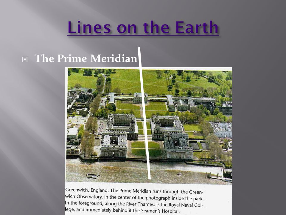  The Prime Meridian