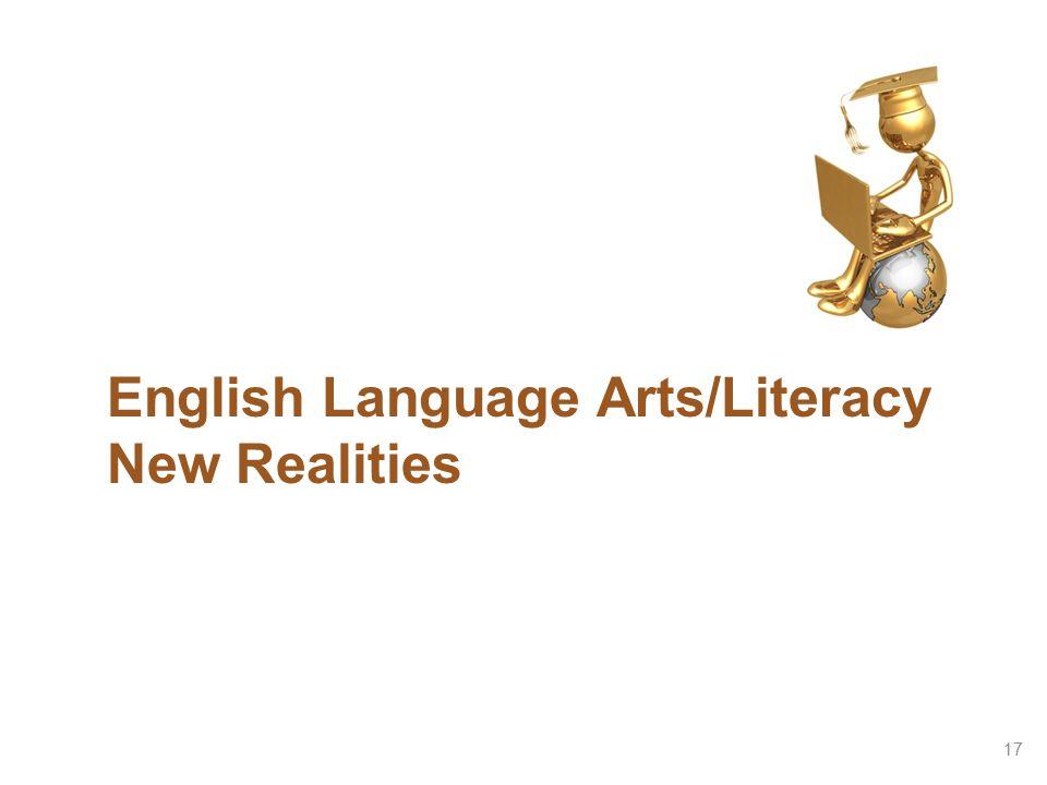 English Language Arts/Literacy New Realities 17