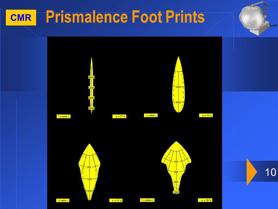 10 CMR Prismalence Foot Prints