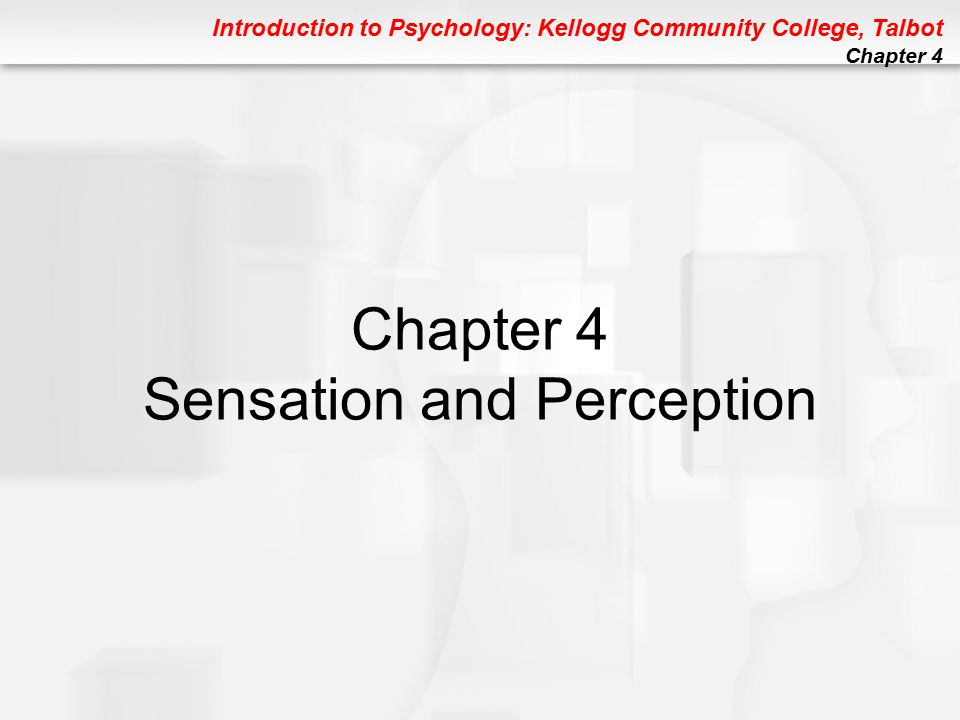 Introduction to Psychology: Kellogg Community College, Talbot Chapter 4 Figure 4.7 FIGURE 4.7 Experiencing the blind spot.
