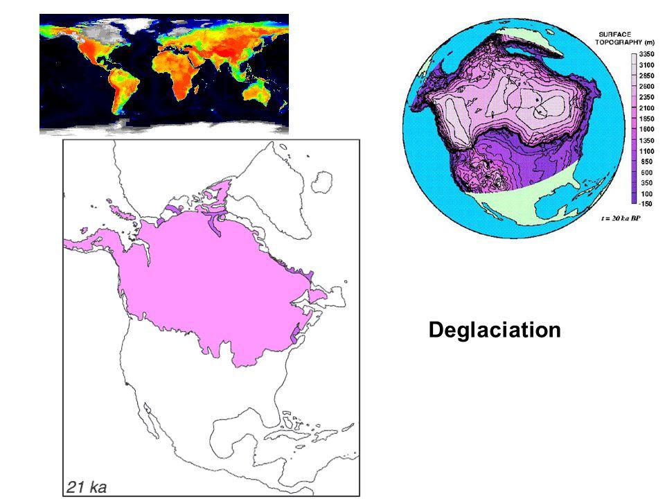 Deglaciation