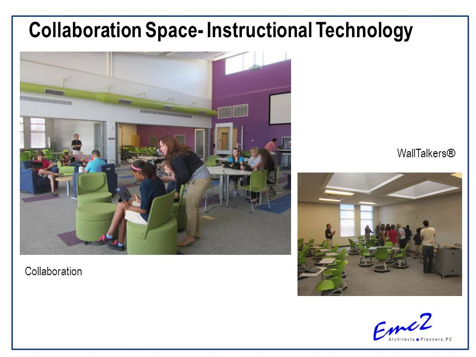 Collaboration Space- Instructional Technology Collaboration WallTalkers ®