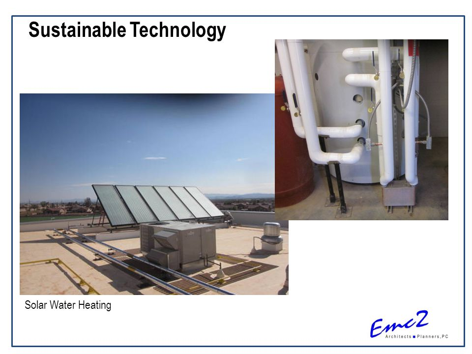 Sustainable Technology Solar Water Heating