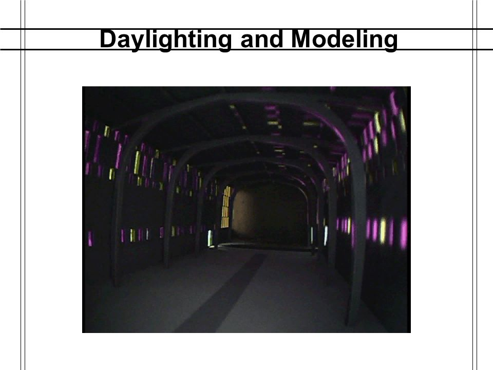 Daylighting and Modeling Control Software