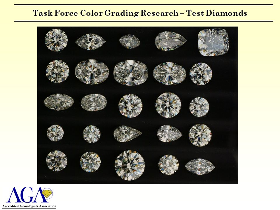 Task Force Color Grading Research – Test Diamonds