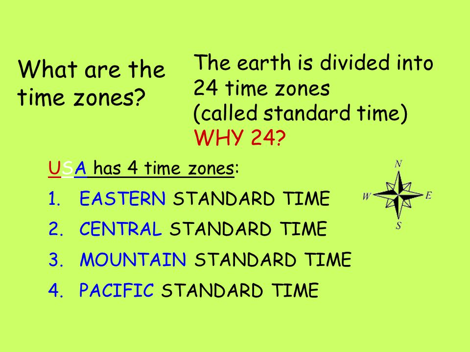 Aim: How can we explain time zones on Earth. Do Now: What causes the seasons on earth.