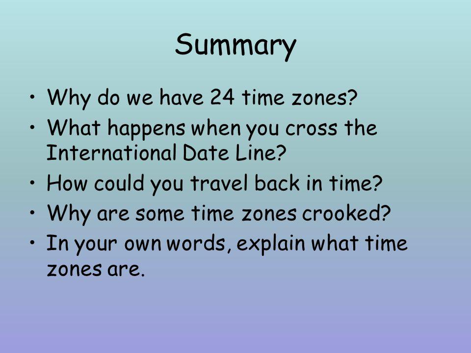 Time Zones NASA Math News